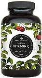 Acerola Kapseln - Natrliches Vitamin C - 180 vegane Kapseln im 6 Monatsvorrat - Ohne unerwnschte Zustze - Laborgeprft, vegan und hergestellt in Deutschland