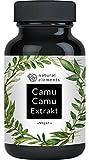 Camu-Camu Kapseln - Natrliches Vitamin C - Vergleichssieger 2020* - 180 vegane Kapseln fr 6 Monate - Laborgeprft, ohne unerwnschte Zustze und hergestellt in Deutschland
